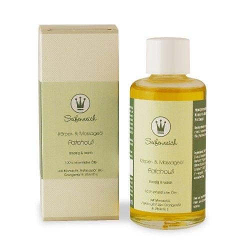Seifenreich Körper- und Massageöl Patchouli, 1er Pack (1 x 100 ml)
