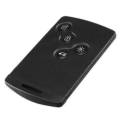 HuihuangAMZus Remote Key per Renault Laguna Koleos Smart Card con 4  Pulsanti Chiave per Lama