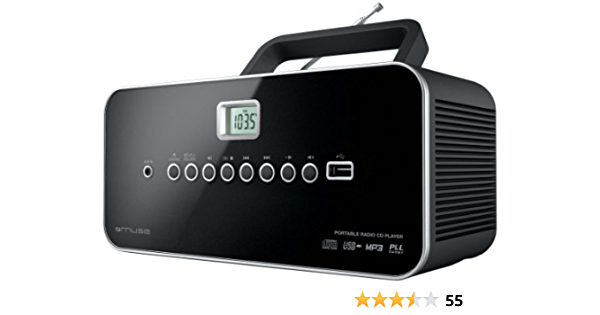 Muse M 28 Rdb Tragbares Radio Mit Cd Mp3 Player Usb Audio Hifi