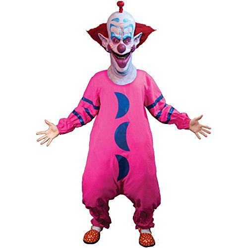 Shorty Kostüm Killer-Klowns aus dem Weltraum - Anzug OHNE ()