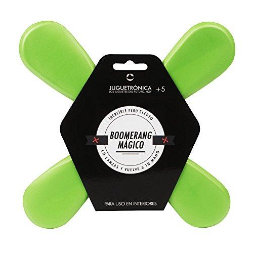 Juguetrónica - Boomerang Mágico, frisbee para interiores, color aleatorio (JUG0131)
