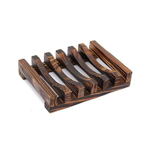 Jspoir Melodiz Kreative Holz Seifenschale Seifenhalter Seifenbox