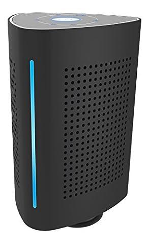Tragbarer Bluetooth Lautsprecher Speaker BSV-1136-B Vibrationslautsprecher Bass Vibrations-Resonanz-Lautsprecher 36W mit Bluetooth 4.0 + EDR und NFC für Smartphone und Mp3 Player bis zu 3 Std. | Schwarz