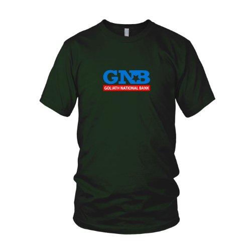 HIMYM: Goliath National Bank - Herren T-Shirt Dunkelgrün