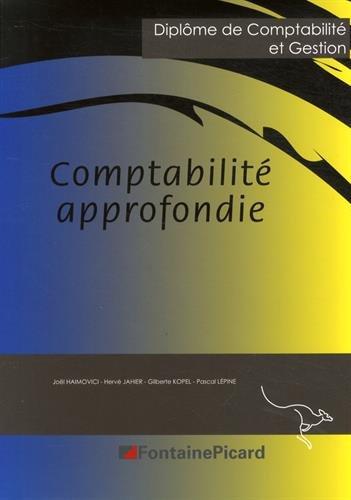 Comptabilité approfondie : Diplôme de Comptabilité et Gestion