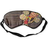 Eye Mask Eyeshade Lollipop Picture Sleep Mask Blindfold Eyepatch Adjustable Head Strap preisvergleich bei billige-tabletten.eu