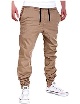 SKY Hombres de ocio de moda de verano ropa pantalones de jogging casual Ocio deporte pantalones colapso de amarre...