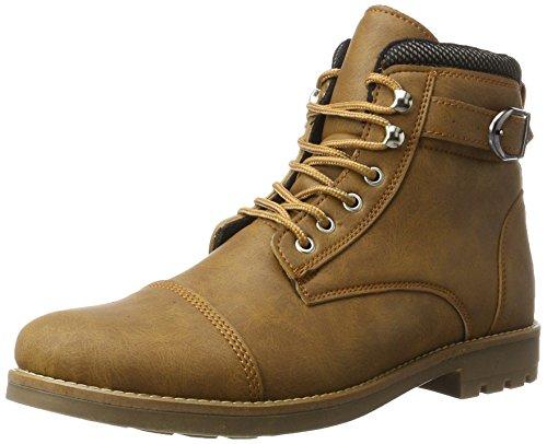 Wyndham 3502, Zapatos de Cordones Derby para Hombre, Marrón (Cognac R37), 45 EU