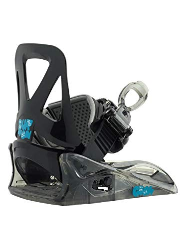 Burton Kinder Grom Snowboard Bindung, Black, S