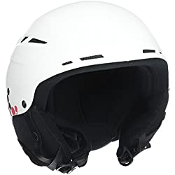 Roxy Alley Oop - Casco de nieve board para mujer, color blanco, talla M