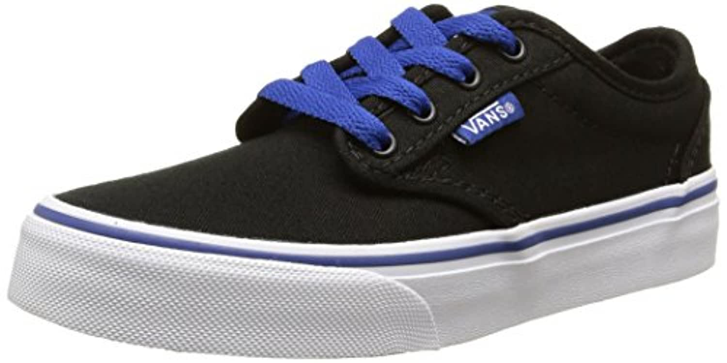 Vans Atwood, Boys' Low-Top Sneakers, Black (varsity/black/blue), 2 UK ,33 EU