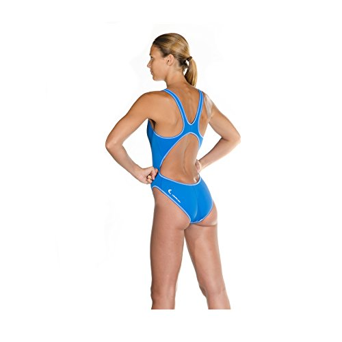 HEAD Damen Badeanzug Wire Azul claro (LB)