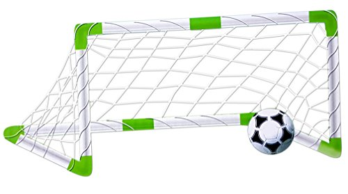 Toyshine Complete Soccer Football Game For kids Including Net, Football, Pump, Whistle