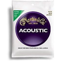 Cuerdas para guitarra - Martin Martin M170 - Bronce