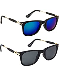 Mens Sunglasses Low Price Combo Stylish Set Of 2 Fashion Wayfarer Goggle And Sunglasses For Men Branded Women...