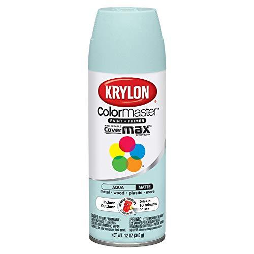 Krylon ColorMaster interior/exterior pintura de aerosol, 12oz, Aqua