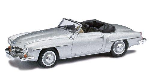 Busch Voitures - BUV9838893 - Modélisme Ferroviaire - Mercedes Benz - 190SL Cabrio Offen