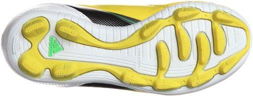 adidas F5 Trx Hg J, Chaussures de Football Compétition garçon Jaune (VIVID S13 / Noir 1 / zest de citron vert S13)