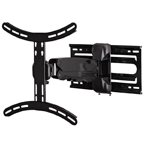 Hama TV Wandhalterung Fullmotion, neigbar, schwenkbar (vollbeweglich), höhenverstellbar, für 81-142cm Diagonale (32 - 56 Zoll), VESA bis 400x400, max. 25 kg, schwarz