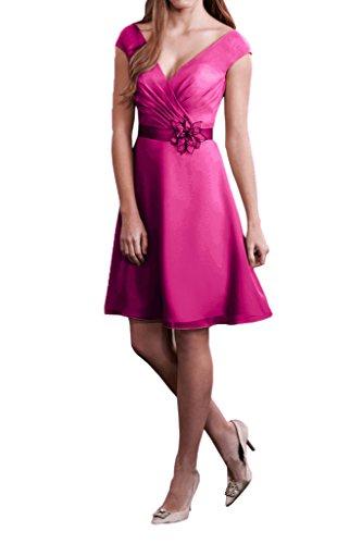 Missdressy -  Vestito  - linea ad a - Donna Fucsia