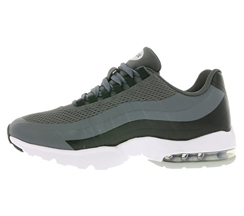 Nike Wmns Air Max 95 Ultra, Chaussures de Sport Femme Gris (Dark Grey / Mtllc Slvr-Blk-White)