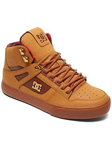DC - Spartan High Wc Wnt, Sneaker alte Uomo Wheat/Black/Dk Choco
