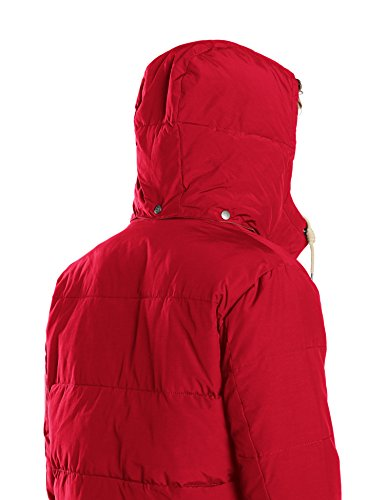 LEE Puffer Jacket, Blouson Homme Rouge (CHILI RED PB)