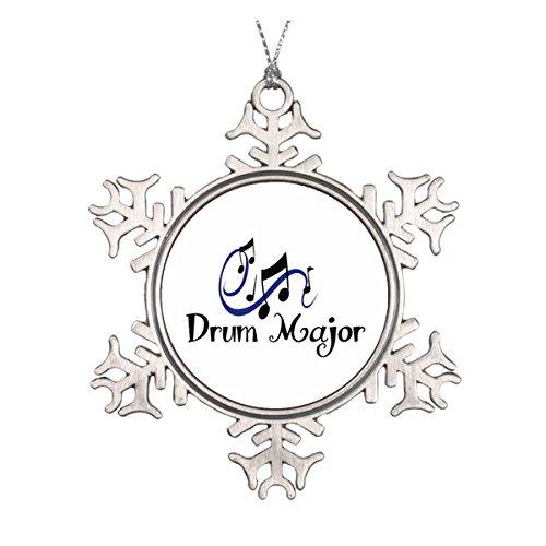 Drum Major Keramik rund Weihnachten Ornament Elegante Waterford Crystal