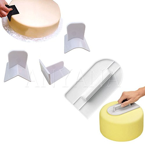 anyana-4pc-plastic-cake-cream-smooth-tool-kitchen-bakeware-cooking-mold-cake-surface-smoother-polish