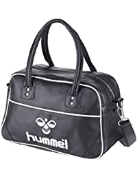 Hummel LOGO MEDIUM BAG ALL YEAR - BLACK/WHITE
