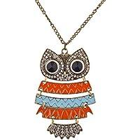 Lux accessori tribali, con croci Southwestern-Collana con ciondolo in cristallo