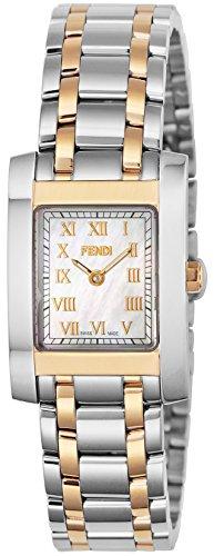 Fendi Women's Watch Classico White Pearl Dial F702240 White