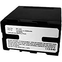 subtel® Batteria per Sony PXW-FS7k/m2k, PXW-FS5k, PXW-X160, PXW-X180, PXW-X200, PMW-100, PMW-150, PMW-160 PMW-200, PMW-300k1/k2, PMW-EX1r, PMW-EX3, PMW-F3 - 5200mAh Batteria di ricambio Sony BP-U60,BP-U30,BP-U90 sostitutiva