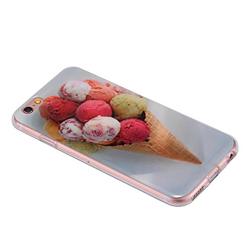 ECENCE APPLE IPHONE 6 6S (4,7) COQUE DE PROTECTION HOUSSE CASE COVER 41020404 Cornet de glace