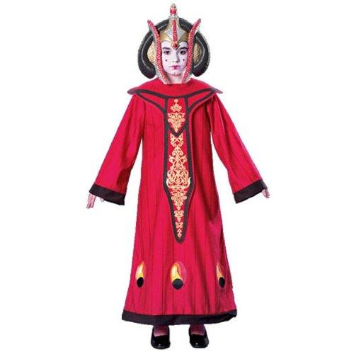 (Rubie's Königin Amidala Kostüm für Mädchen Deluxe)