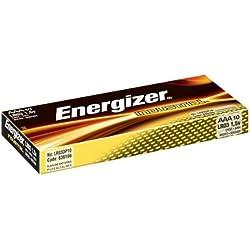 Energizer EN92 - Pilas LR03 AAA, micro, 1.5v, paquete de 10