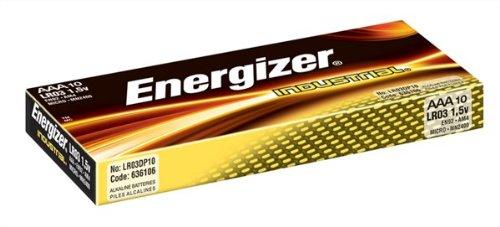 Energizer Industrial Batterien AAA LR03 1,5 V (10er-Pack)