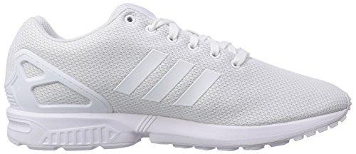 adidas Originals Zx Flux Unisex-Erwachsene Sneakers Weiß (Ftwr Weiß/Ftwr Weiß/Off Weiß)