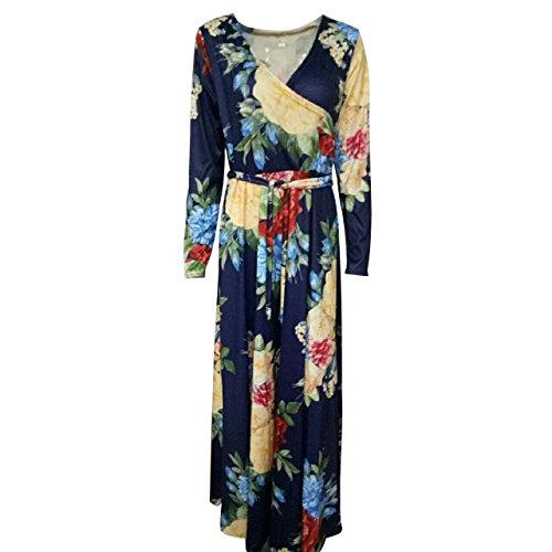 SHISHANG la mode vestimentaire Lady code standard rose, possession de bleu été élevé élastique grande robe jupe robe hidden blue