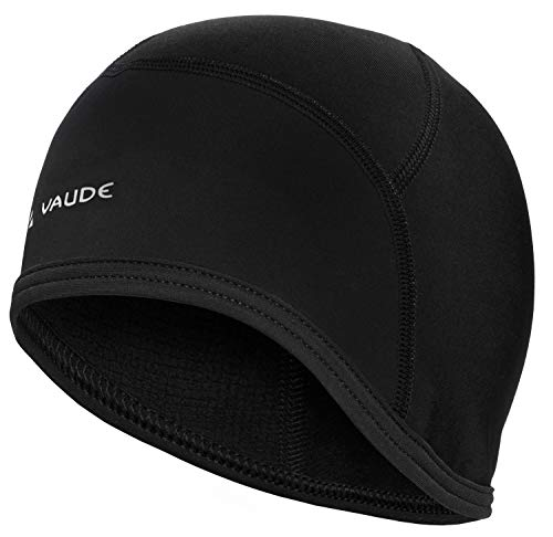 Vaude Bike Cap Helm-Unterziehmütze Mütze, Black Uni, M