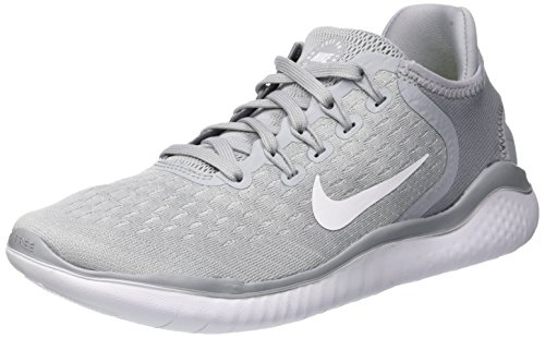 info for f9087 c57b4 Nike Free Rn 2018, Zapatillas de Running para Mujer, Gris (Wolf  Grey White White Volt 003), 36.5 EU