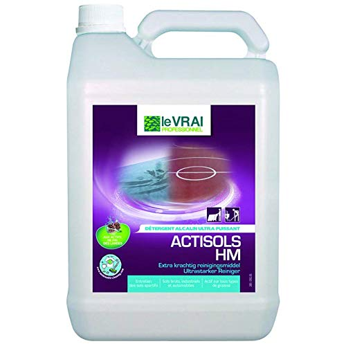 Le Vrai 12508 Détergent alcalin-Actisols HM, Multicolore