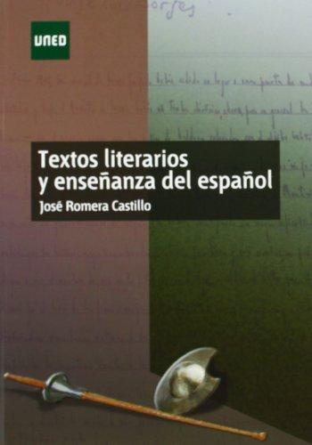 Textos literarios y enseñanza del español (MÁSTER)