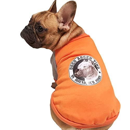 Yslin Cute Comfort Fit Kleidung Puppy mit Muster Kostüme Welpen Atmungsaktiv Jumpsuit Dünne Weiches Outfit Outdoor Mode Verkleidungen (Puppy Kostüme Für Welpen)