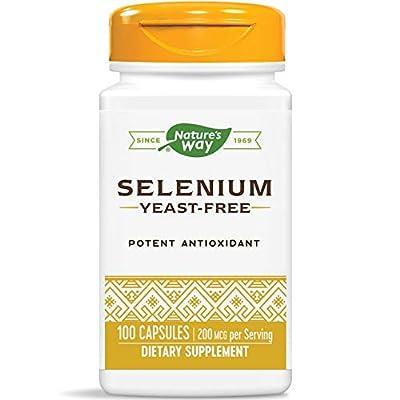 Nature's Way Selenium 200mcg 100 caps by Nature's Way