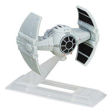 Hasbro B6597 - Star Wars - The Black Series Titanium - Inquisitor's TIE Advanced Prototype - Mini-Fahrzeug (Gr. 6 cm) [UK (Star Inquisitor Wars)