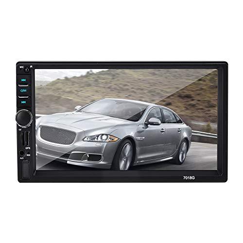 Garsent 7 Zoll 2 Din Autoradio MP5 Player, GPS Navigation MP3/MP5/FM-Player Touchscreen Multimedia Autoradio mit Bluetooth (Multimedia-player Mp5)