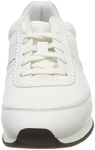 HUGO Damen Harlem Adrienne-n Sneaker Weiß (White 100)