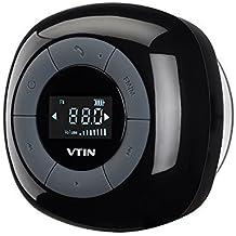 Altavoz Bluetooth Ducha impermeable de VicTsing, Radio FM y pantalla LCD digital, Manos Libres y micrófono para IPhone 7/6s 6, Samsung Galaxy y otros teléfonos inteligentes.