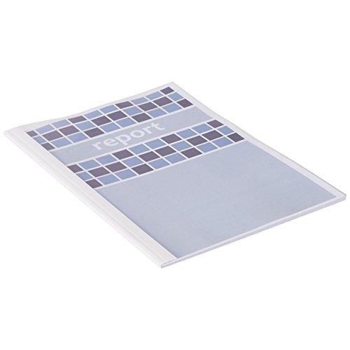 40 mm GBC Ibicover color blanco Carpeta t/érmica